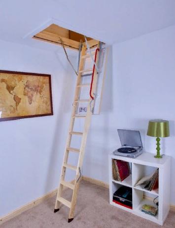 fakro lwk çatı merdivenleri